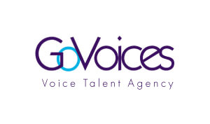 Julie Waters VO Go Voices Logo